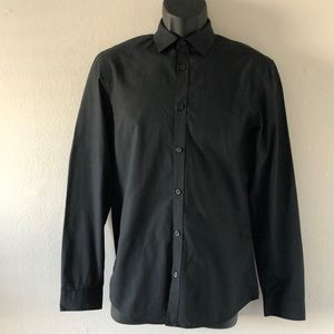 H&M BLACK MEN SHIRT
